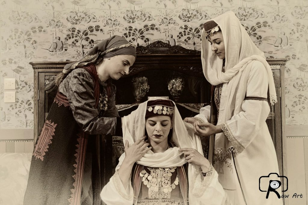 dressing the bride, Epirus